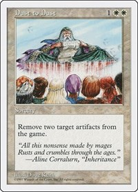 Dust to Dust, Magic: The Gathering, Fifth Edition