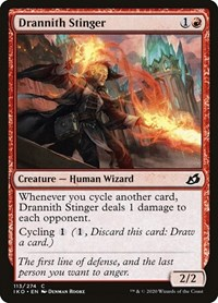 Drannith Stinger, Magic: The Gathering, Ikoria: Lair of Behemoths