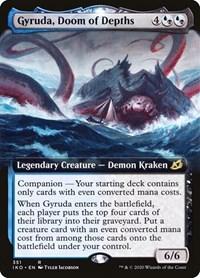 Gyruda, Doom of Depths (Extended Art), Magic: The Gathering, Ikoria: Lair of Behemoths