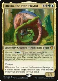 Otrimi, the Ever-Playful, Magic, Commander 2020