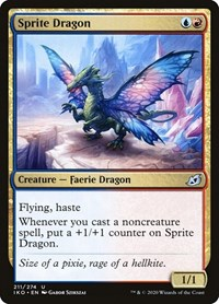Sprite Dragon, Magic: The Gathering, Ikoria: Lair of Behemoths