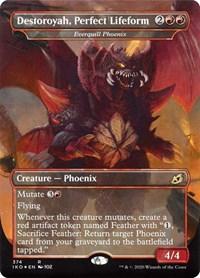 Destoroyah, Perfect Lifeform - Everquill Phoenix, Magic: The Gathering, Ikoria: Lair of Behemoths
