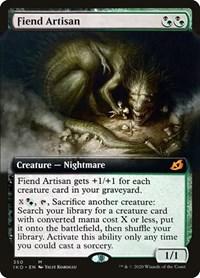 Fiend Artisan (Extended Art), Magic: The Gathering, Ikoria: Lair of Behemoths