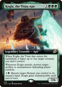 Kogla, the Titan Ape (Extended Art), Magic: The Gathering, Ikoria: Lair of Behemoths