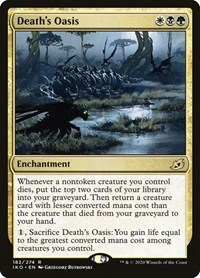 Death's Oasis, Magic: The Gathering, Ikoria: Lair of Behemoths