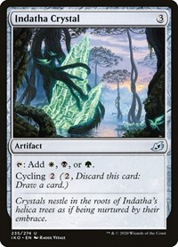 Indatha Crystal, Magic, Ikoria: Lair of Behemoths