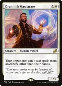 Drannith Magistrate, Magic: The Gathering, Ikoria: Lair of Behemoths