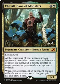 Chevill, Bane of Monsters, Magic: The Gathering, Ikoria: Lair of Behemoths