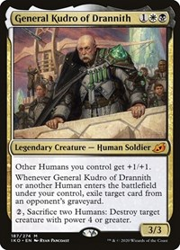 General Kudro of Drannith, Magic: The Gathering, Ikoria: Lair of Behemoths