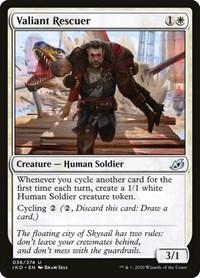 Valiant Rescuer, Magic: The Gathering, Ikoria: Lair of Behemoths