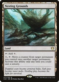 Nesting Grounds, Magic: The Gathering, Commander 2020