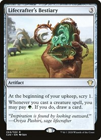 Lifecrafter's Bestiary, Magic: The Gathering, Commander 2020