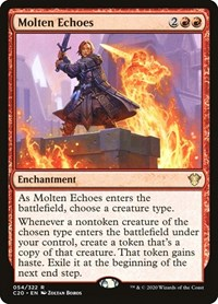 Molten Echoes, Magic: The Gathering, Commander 2020