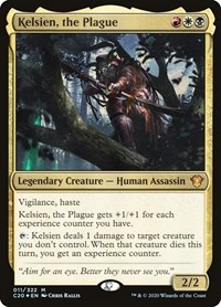 Kelsien, the Plague, Magic: The Gathering, Commander 2020