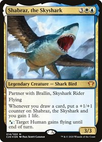 Shabraz, the Skyshark, Magic: The Gathering, Commander 2020