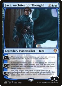 Jace, Architect of Thought, Magic, Commander 2020
