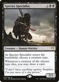 Species Specialist, Magic: The Gathering, Commander 2020