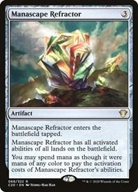 Manascape Refractor, Magic, Commander 2020