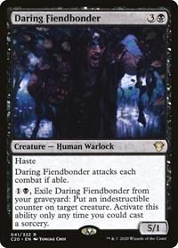Daring Fiendbonder, Magic, Commander 2020