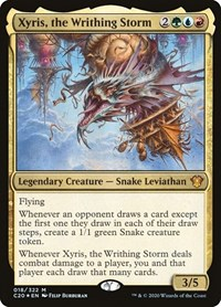 Xyris, the Writhing Storm, Magic: The Gathering, Commander 2020