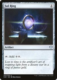 Sol Ring, Magic: The Gathering, Commander 2020