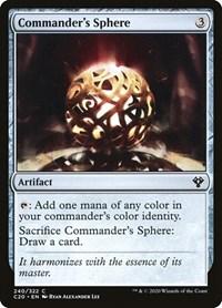 Commander's Sphere, Magic: The Gathering, Commander 2020