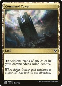 Command Tower, Magic: The Gathering, Commander 2020