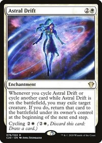 Astral Drift, Magic: The Gathering, Commander 2020