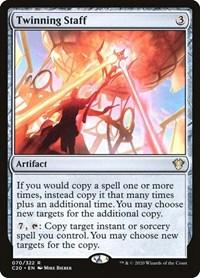 Twinning Staff, Magic: The Gathering, Commander 2020