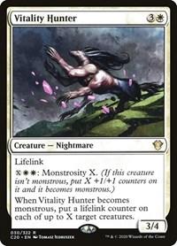 Vitality Hunter, Magic: The Gathering, Commander 2020