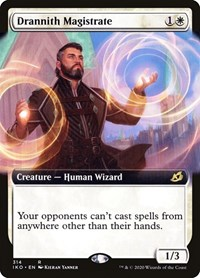 Drannith Magistrate (Extended Art), Magic: The Gathering, Ikoria: Lair of Behemoths