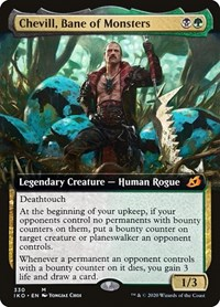 Chevill, Bane of Monsters (Extended Art) (Foil)