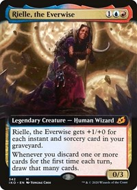 Rielle, the Everwise (Extended Art)