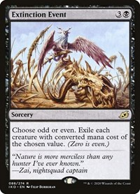 Extinction Event, Magic: The Gathering, Ikoria: Lair of Behemoths