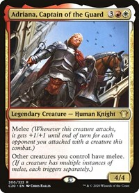 Adriana, Captain of the Guard, Magic: The Gathering, Commander 2020