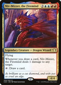 Niv-Mizzet, the Firemind, Magic: The Gathering, Commander 2020