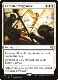 Akroma's Vengeance, Magic: The Gathering, Commander 2020