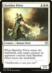 Banisher Priest, Magic: The Gathering, Commander 2020