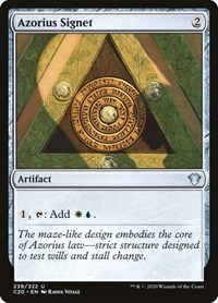 Azorius Signet, Magic: The Gathering, Commander 2020