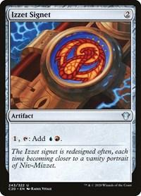 Izzet Signet, Magic: The Gathering, Commander 2020