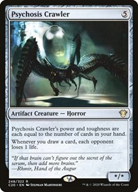 Psychosis Crawler, Magic, Commander 2020
