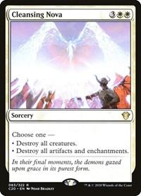 Cleansing Nova, Magic: The Gathering, Commander 2020