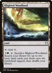 Blighted Woodland, Magic: The Gathering, Commander 2020