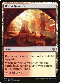 Boros Garrison, Magic, Commander 2020