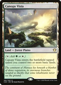 Canopy Vista, Magic: The Gathering, Commander 2020
