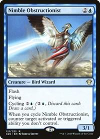 Nimble Obstructionist, Magic: The Gathering, Commander 2020
