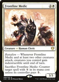Frontline Medic, Magic: The Gathering, Commander 2020