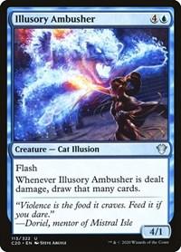 Illusory Ambusher, Magic: The Gathering, Commander 2020