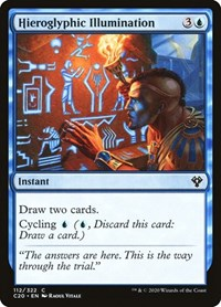 Hieroglyphic Illumination, Magic: The Gathering, Commander 2020