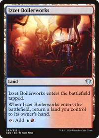 Izzet Boilerworks, Magic: The Gathering, Commander 2020